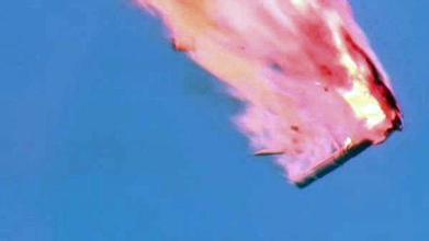俄罗斯火箭质子-M升空后不久发生了爆炸