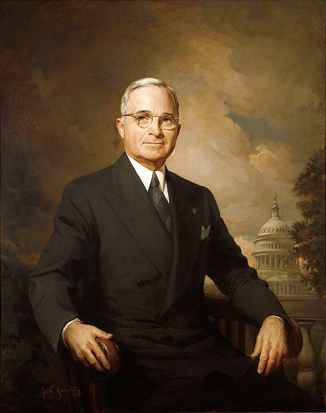 杜鲁门连任美国总统