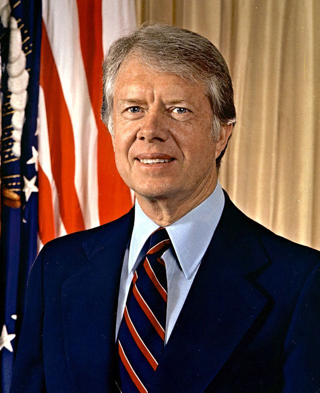 美国总统吉米·卡特出生