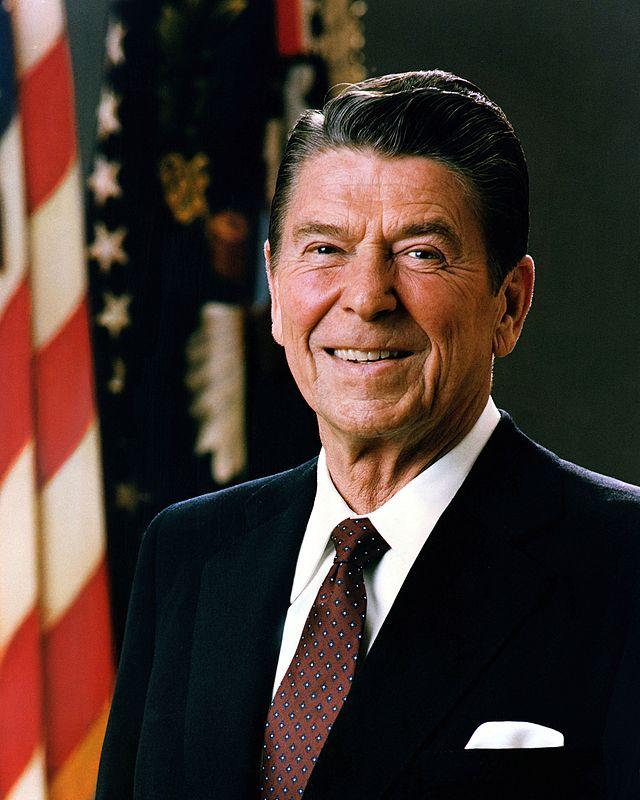 美国第40任总统里根就职(1981-1989)