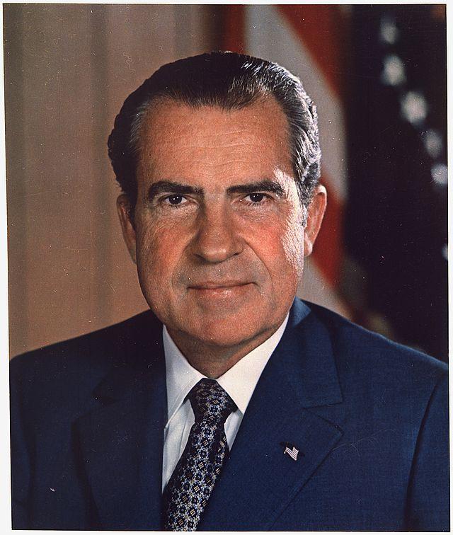 美国前总统尼克松去世