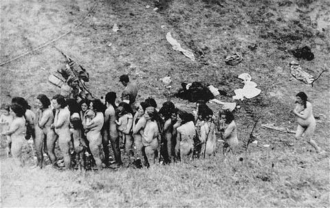 纳粹确定处理犹太人的最后解决方案——种族灭绝