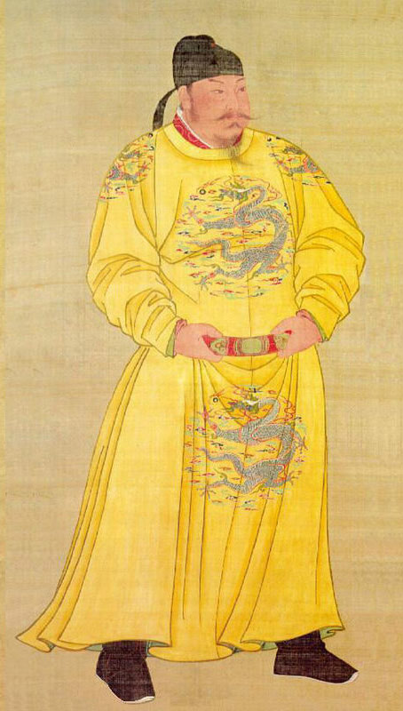 唐太宗李世民出生