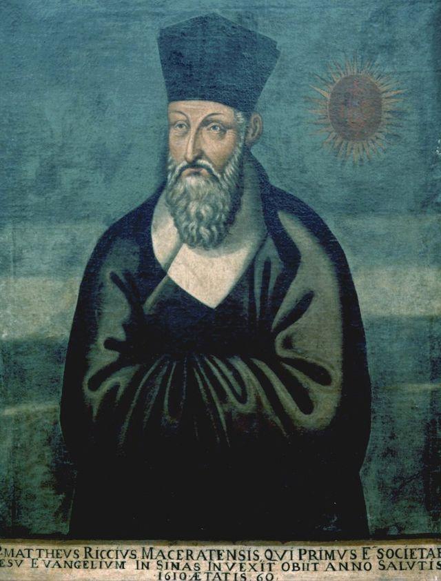 明朝万历年间旅居中国的耶稣会传教士利玛窦逝世