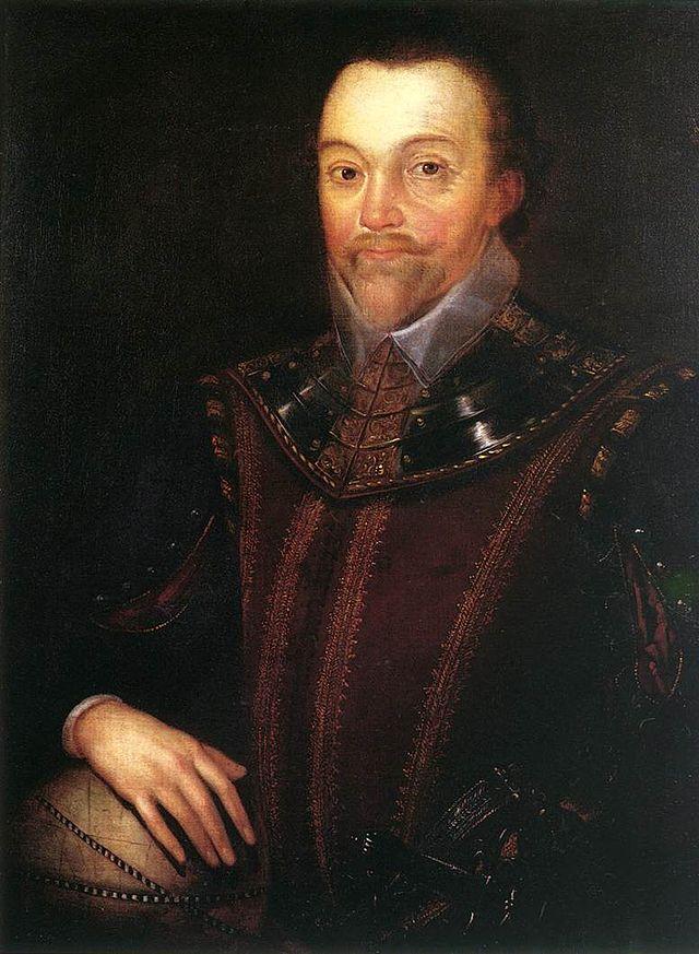 英国探险家法兰西斯·德瑞克逝世