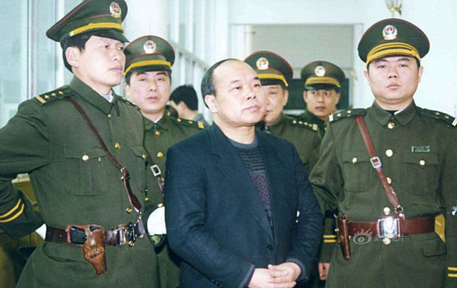 江西省人民政府原副省长胡长清被判死刑
