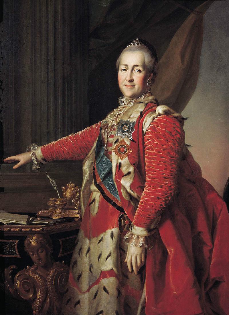 俄国女沙皇 叶卡捷琳娜大帝诞生