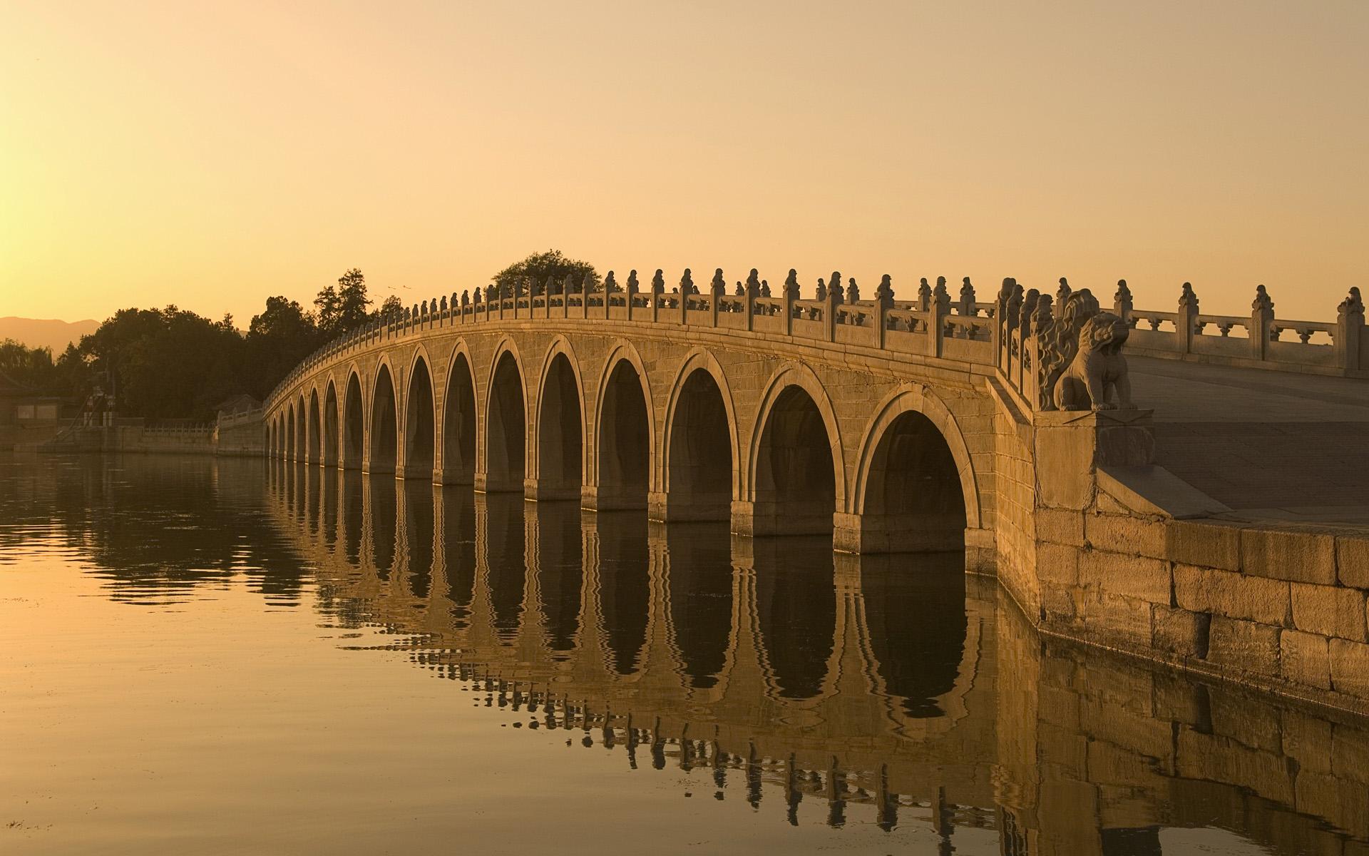 卢沟桥建成 建筑