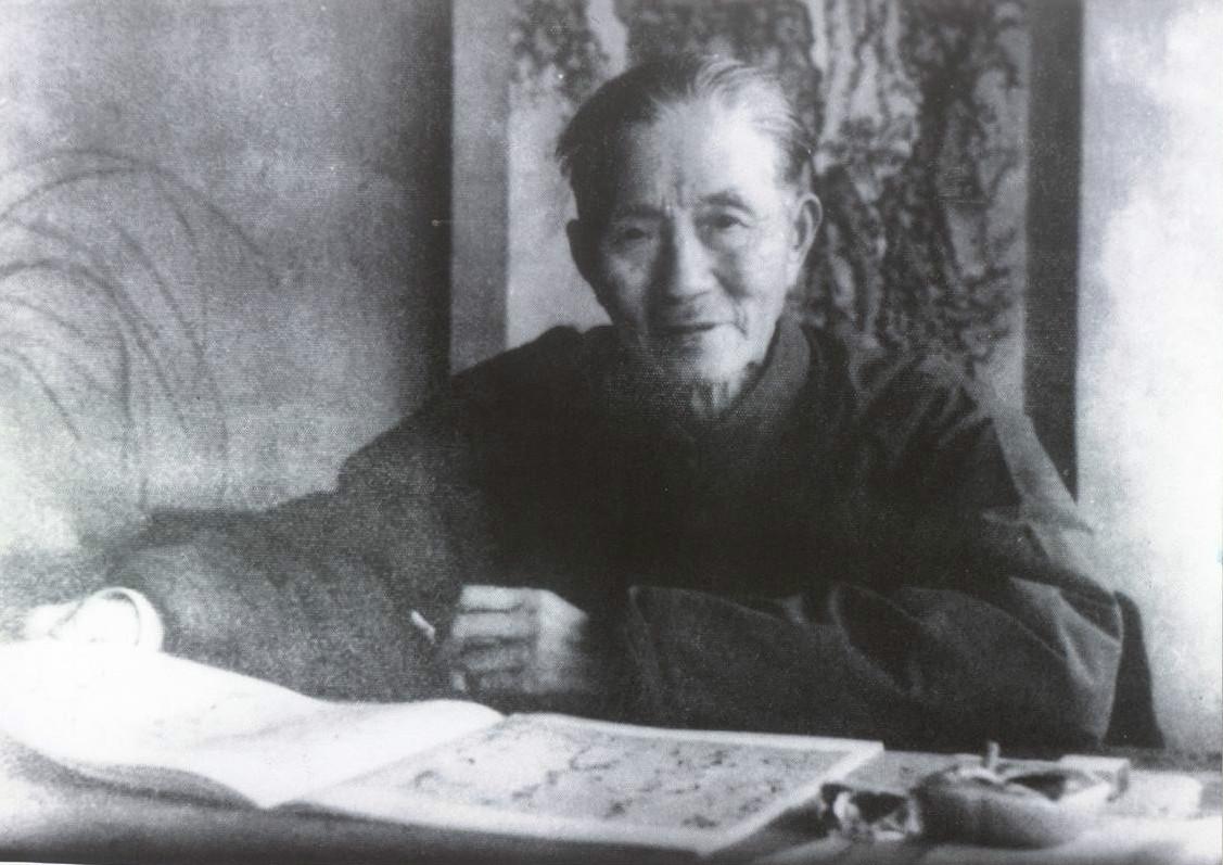 中国花鸟画大师,现代浙派首领人吴茀之出生 画家 国画